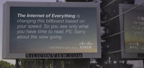 The Connected Billboard