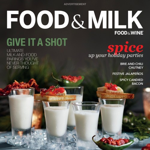 Food & Wine Becomes Food & Milk