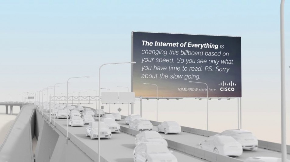 "Outdoor: ""Cisco Connected Billboard"""